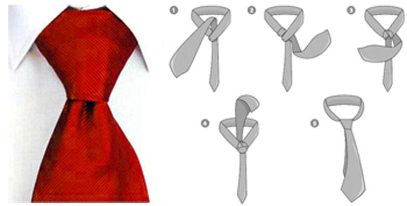 Alarde p blico la ropa for Nudo de corbata windsor